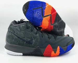 sneakers for cheap d6f82 241e4 Image is loading Nike-Kyrie-4-Year-of-Monkey-Anthracite-Black-