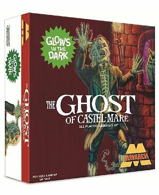 MONARCH GHOST OF CASTEL-MARE, SQUARE-BOX GLOW-IN-THE-DARK Diorama model kit 1/8