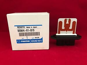 new genuine oem mazda 3 blower motor resistor bbm4 61 b15 free