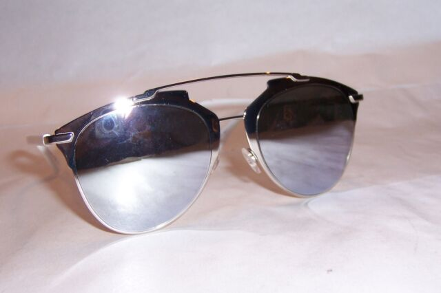 8e859283cc6d Christian Dior Reflected 85ldc Palladium Silver Mirror Sunglasses Authentic