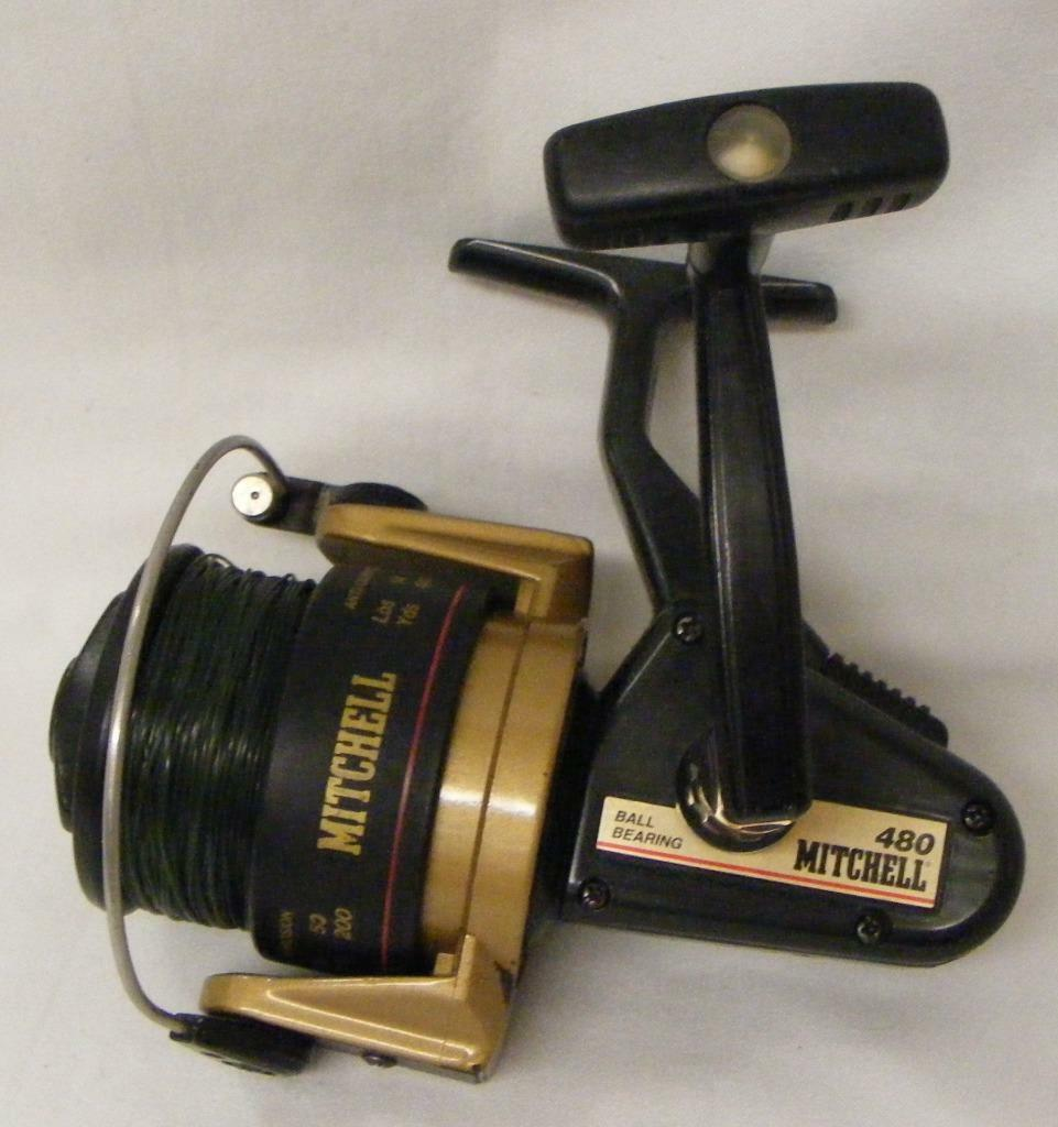Nice Used Mitchell 480 Open Face Spinning Reel Excellent Condition