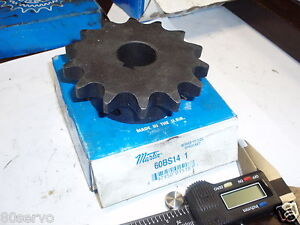 MARTIN-SPROCKET-GEAR-CHAIN-COUPLING-60BS14-1-BORE-1-034-NEW