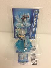 Skylanders Swap Force - Blizzard Chill Action Figure LOOSE+CARD+CODE
