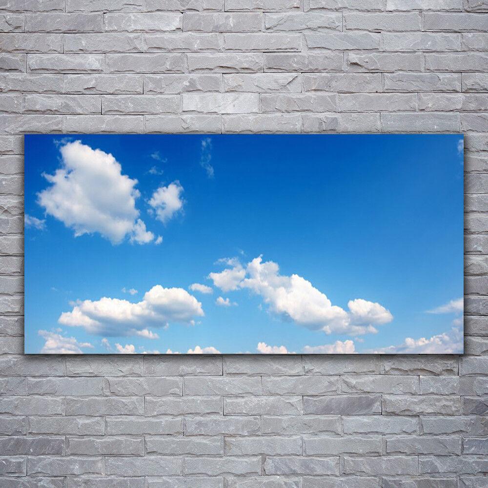 Wandbilder Glasbilder Druck auf Glas 120x60 Himmel Landschaft