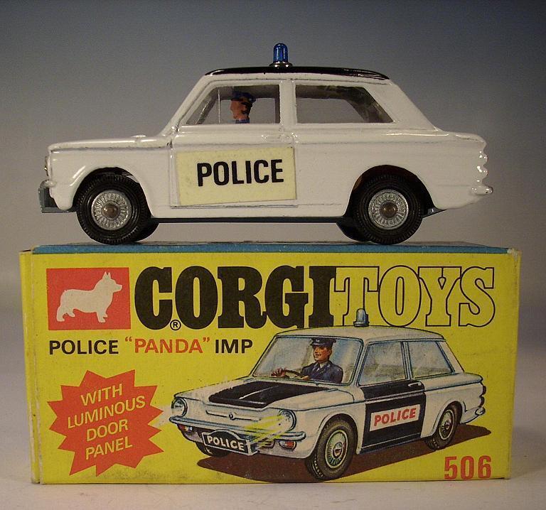Corgi Toys 506 Sunbeam Police 'Panda' Imp Police OVP