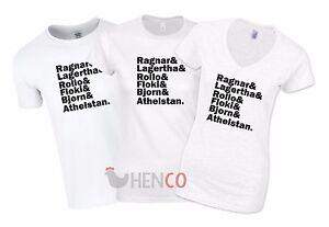 Vikings-liste-T-shirt-homme-femmes-Ragnar-Bjorn-Floki-Lothbrok-Lagertha-paienne