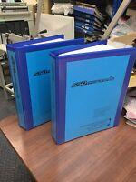 Ferrari 550 Maranello 2 Volume Workshop Manual Set Service Repair Instruction