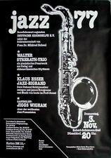 JAZZ FESTIVAL - 1977 - Tourplakat - Concert - Tourposter - Düsseldorf