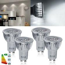 Lot of 4x High Power 6W GU10 LED Bulb Spot Light Spotlight Cool White 6000K Lamp