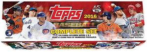 2016 Topps Baseball Complete Set - Hobby version