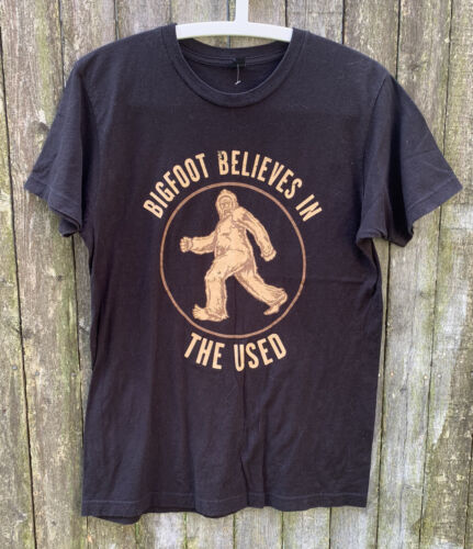Vintage Bigfoot Believes In The Used T Shirt L