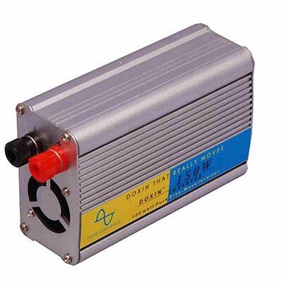 150W Pure Sine Wave Power Inverter 12V DC 220V AC Laptop Mobile Outdoor