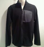 The North Face Men's 100 Wt Tundra Fleece Full Zip Jacket Black Size S-2xl