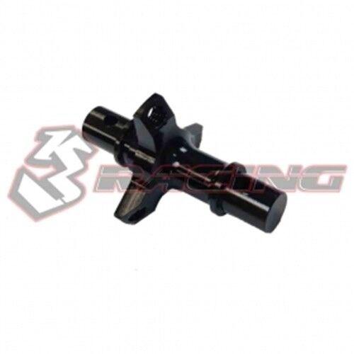 3RACING SAK-A514 Alu Front Solid Axle For 1//10 RC SAKURA Touring Advance Car