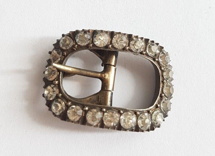 Petite bouclé ceinture en silver massif et pierres oxyde zirconium.X152