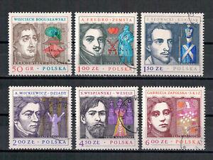 Polen-Meisterwerke-polnischer-Dramaturgie-MiNr-2591-2596-1978-used