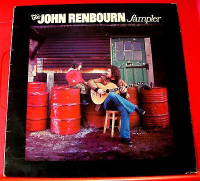 The John Renbourn Sampler LP UK ORIG 1971 Transatlantic TRA/SAM 20 Folk VINYL