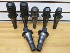 1 Set Of End Mill Holders Kennametal Inc 6 Pcs Usedexcellent