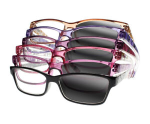 341c325be7 Image is loading Multifocal-Progressive-Photochromic -Women-Colorful-Patterns-Reading-Glasses