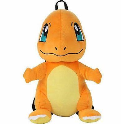 Pokemon Charmander Plush Backpack Gotta Catch /'Em All