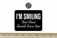 """Magnetic Magnet Smile Mon Dread Style Smiling Face Refrigerator Magnets 2x2/"""""""