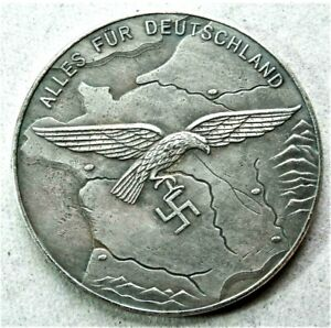 WW2-GERMAN-COMMEMORATIVE-COLLECTORS-REICHSMARK-COIN