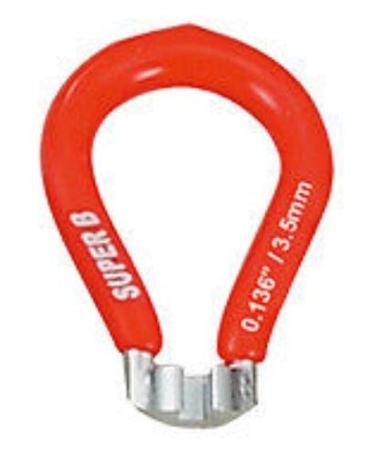MAVIC 3.45mm 3.3mm SUPER B Wheel Spoke Wrench Nipple Key Tool  3.23mm