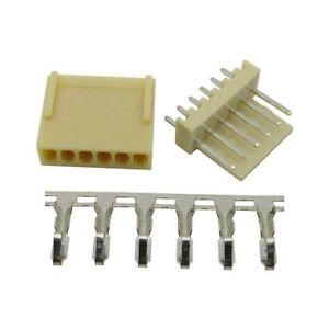 10pcs KF2510-6P 2.54mm Pin Header+Terminal+Housing Connector Kits