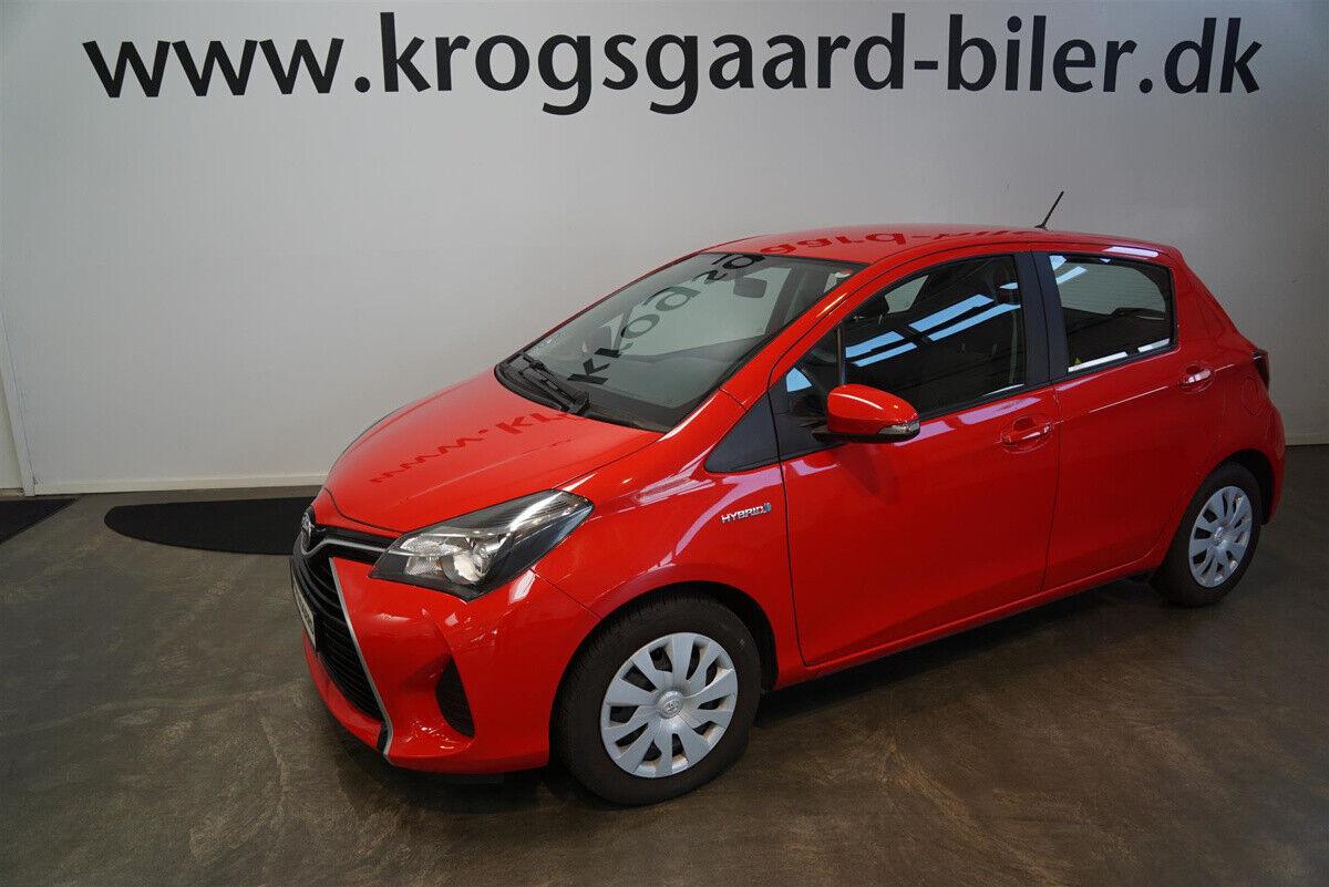 Toyota Yaris 1,5 Hybrid H2 CVT 5d - 132.900 kr.