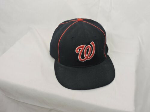 washington nationals baseball hat fitted 7 1/2 rom