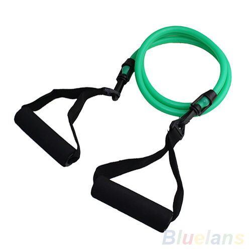 Fitness Equipment Resistance Bands Tube Workout Exercise Yoga Training 1 Type