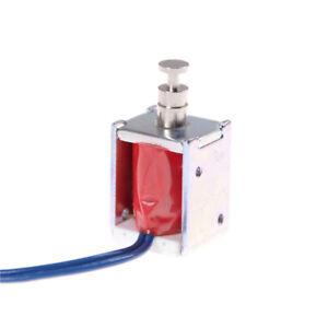 Micro-Mini-Magnetventil-DC-Elektromagnet-DC-6V-12V-Push-Pull-Saug-Typ