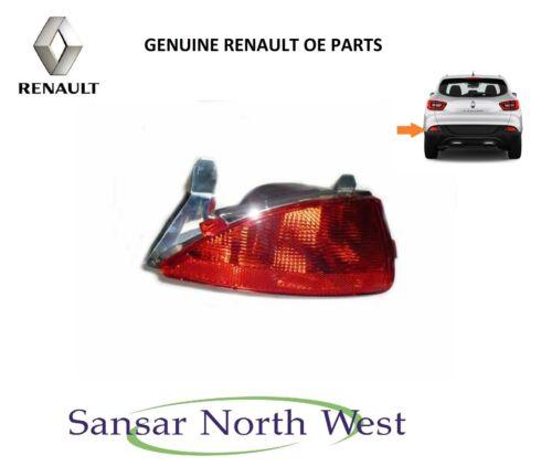 Marca Nuevo Original Renault Kadjar Luz antiniebla trasera Luz Izquierda N//S UK Lado Del Pasajero