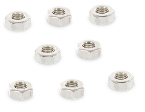 4 Sechskantmuttern M14 Edelstahl A2 DIN 934 Rechtsgewinde Muttern