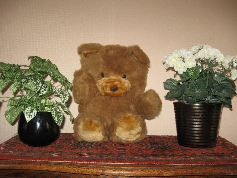 Old Vintage 45 cm Dutch Teddy Bear Plush
