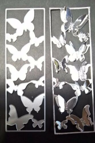 Butterfly Panel Metal Cutting Die Card Making Scrapbooking Embossing Craft Art