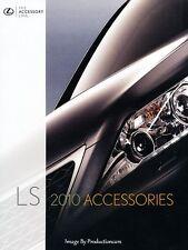 2010 Lexus LS LS460 LS600h LSh Original Factory Accessories Brochure Catalog