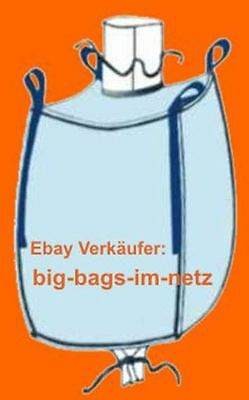 * 2 Stk. Big Bag - 195 Cm Hoch - 95 X 95 Cm Bags Bigbags Säcke Bigbag 1500 Kg