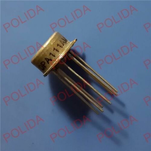 CAN-8 1PCS commande AMP IC Burr-Brown//BB//TI TO-99 OPA111AM 100/% authentique et NEUF