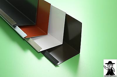 LiebenswüRdig Wandanschlußblech Dach Dachblech Alu Aluminium Farbig 1 M Lang 0,8 Mm Stark NüTzlich FüR äTherisches Medulla Fürs Dach