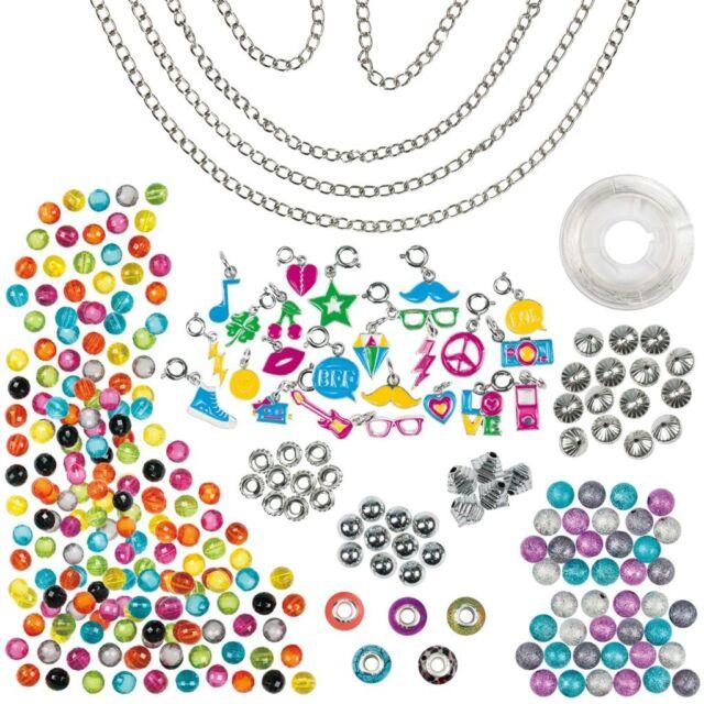 Galt Toys Schmuck-Bastelset für Mädchen DIY Spielzeug Neon Charms 381004630