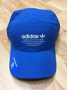 eba3d441c39 New Adidas Originals NMD Tech Five 5 Panel Running Strapback Blue ...