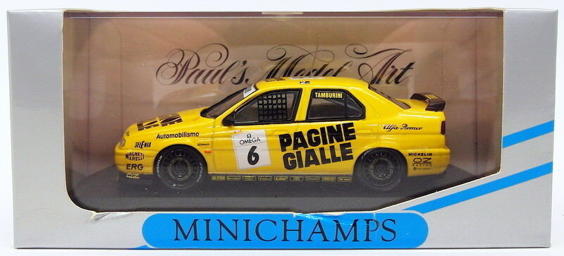 Minichamps 1 43 Scale 430 941206 - Alfa Romeo 1994 Class 2  - A.Tamburini
