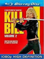 NEW BLU-RAY // QUENTIN TARANTINO // KILL BILL VOL 2 // Uma Thurman, David Carra