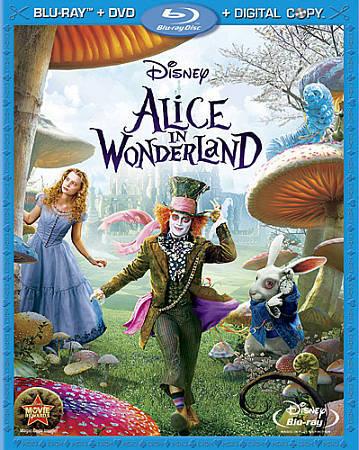 Alice In Wonderland Blu Ray Dvd 2010 3 Disc Set Includes Digital Copy For Sale Online Ebay
