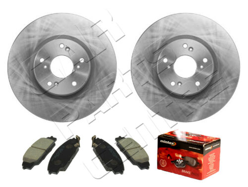 FOR HONDA CIVIC 2.0 TYPE R FN2 FRONT BRAKE DISC DISCS MINTEX BRAKE PAD PADS 06