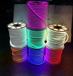 Dc 12v 24v 2835 waterproof led neon rope light 120ledm flexible image is loading dc 12v 24v 2835 waterproof led neon rope mozeypictures Images