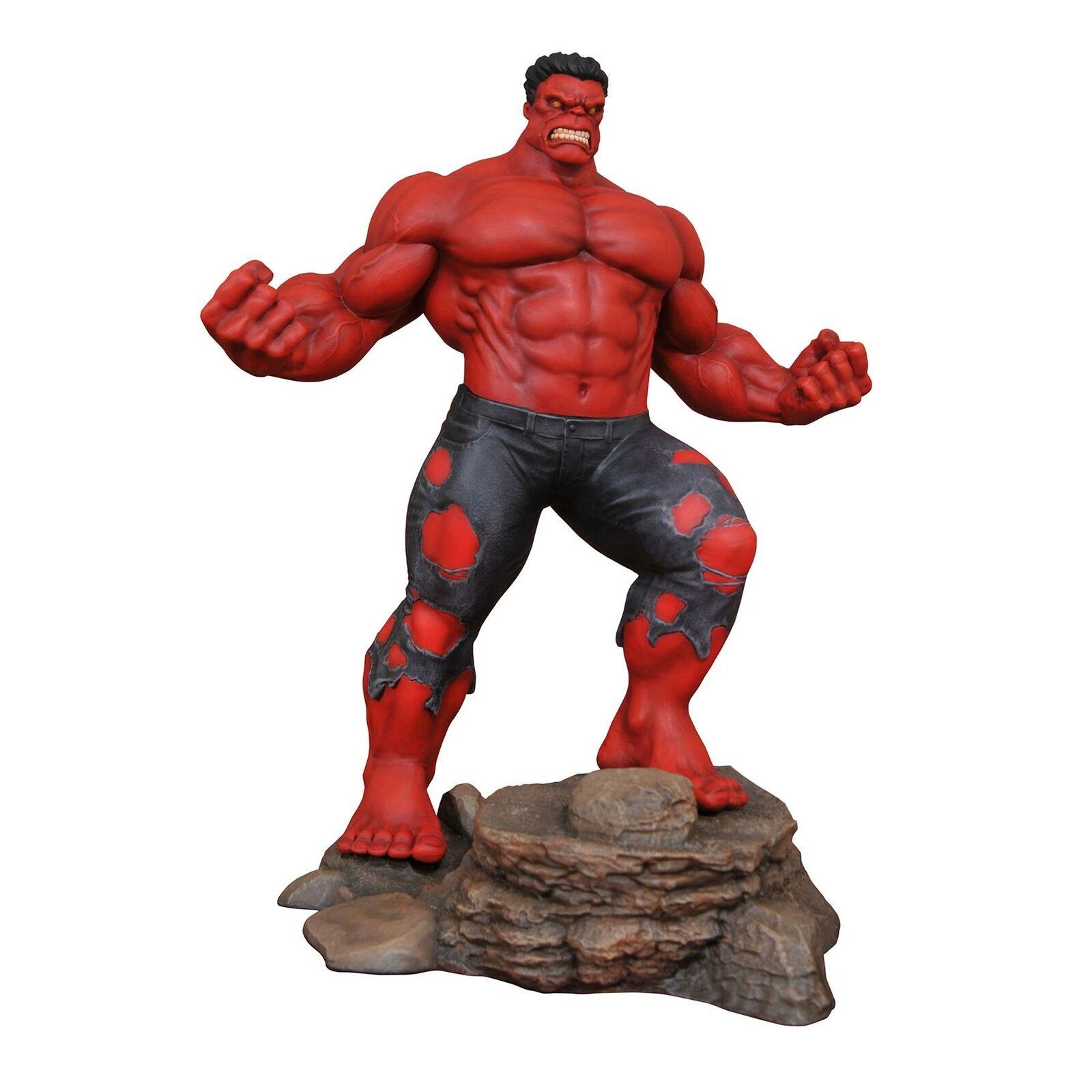 Marvel Gtuttieria HULK ROSSO PVC cifra Statua Diamond giocattoli Select