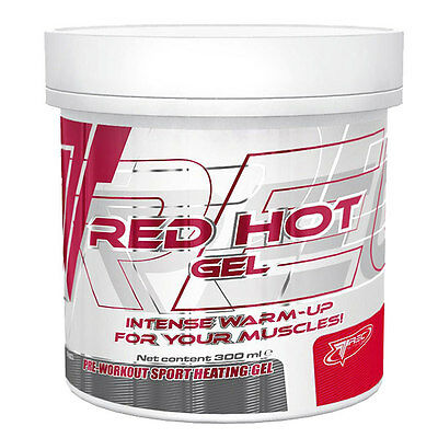 Trec Nutrition Red Hot Sports Muscle Rub Gel 300ml