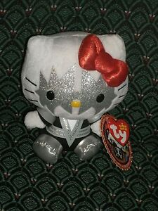 Ty Beanie Baby ~ HELLO KITTY SPACEMAN (Ace Frehley) fm the Rock Band KISS ~ MWMT